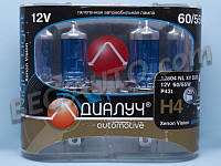 Н4 12V 60/55 (43) Диалуч Night light xenon vision (2шт)