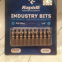"""Бита """"RapidE"""" pz2-25mm 1/4"""