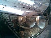 Накладки на фары, спойлер на багажник, спойлер на стекло  Kia Magentis