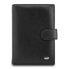 Оригінальний невеликий чоловічий портмоне з натуральної шкіри Sergio Torretti (ST Leather)