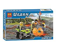 Конструктор Bela Urban 10637 Вулкан: стартовый набор (аналог Lego City 60120)