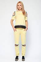 Спортивный костюм Николет желтый