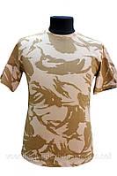 Футболка военная камуфляжная DDPM (пустынная). Новая. Для рыбалки, охоты, активного отдыха