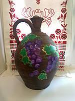 Глиняный кувшин ручной работы