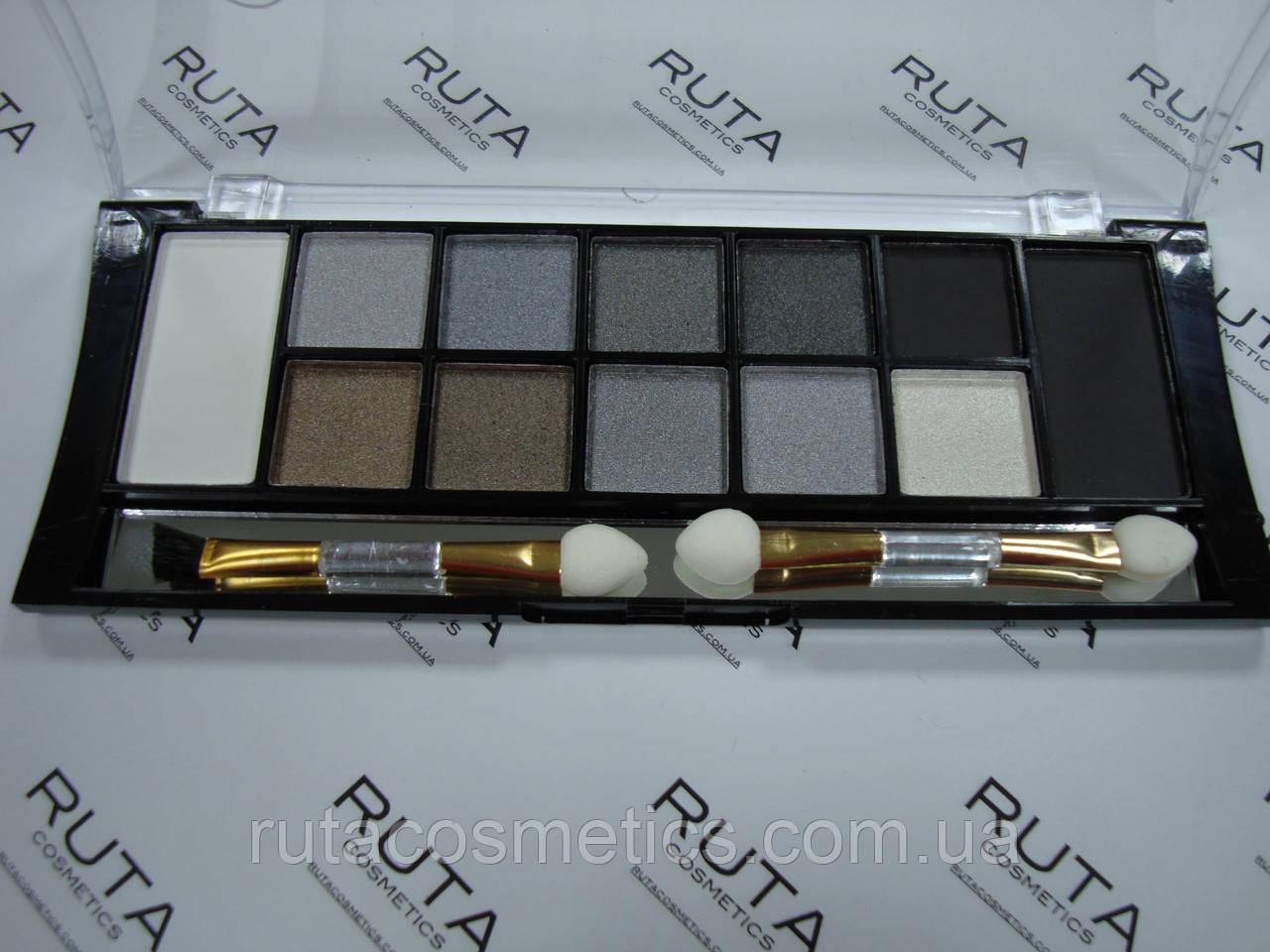 Тени TF Color Palette Eyeshadow Pearl & Matte 12 (01)