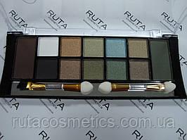 Тіні TF Color Eyeshadow Palette Pearl & Matte 12 (03)