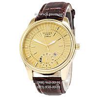 Часы Rolex Cellini Brown-Gold