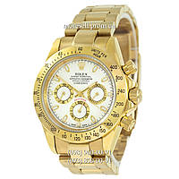 Часы Rolex Daytona AAA Mechanic Gold-White