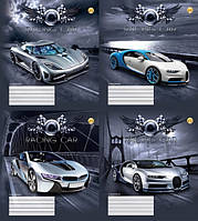 """Тетрадь 48_листов клетка """"Тетрада"""" / Racing Car"""