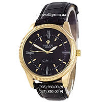 Часы Rolex Cellini Black-Gold-Black