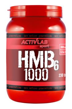 ActivLab HMB6 1000 230 caps активлаб гидроксиметилбутерат