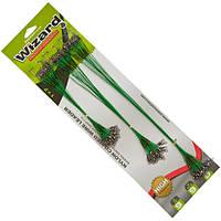 Поводок ET Wizard 15-22.5-30 см 9 кг Зелёный (72 шт/блистер)