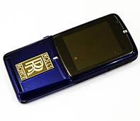 Стильный кнопочный мобильный телефон Vertu V095 Rolls Royce Ferrari копия 2 сим металлический корпус