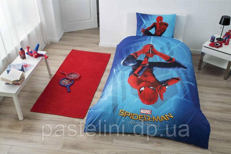 ТАC постельное бельё Spiderman Homecoming (Спайдермен Хомекоминг) без резинки