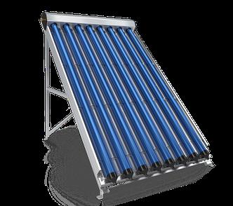 Вакуумнотрубчатый солнечный коллектор Eldom Green Line VHP 8 на 80 литров