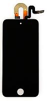 Дисплей (экран) для Apple iPod Touch 5G + с сенсором (тачскрином) черный Оригинал