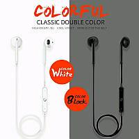 Беспроводные наушники гарнитура спорт Sport headset Bluetooth V4.1 с микрофоном черные