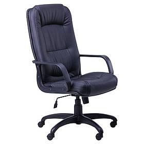 Кресло офисное Марсель пластик механизм Tilt кожзаменитель Неаполь N-20 (AMF-ТМ)