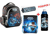 "Комплект. Рюкзак школьный Max Steel MX14-510K + пенал + сумка, ТМ ""Kite"""