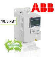 Преобразователь частоты ACS355 18,5кВт 400В 3Ф IP20, фильтр EMC2, Solar pump drive, R4 солнечный инвертор