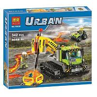 Конструктор Bela серия Urban 10639 Вулкан: гусеничная машина (аналог Lego City 60122)