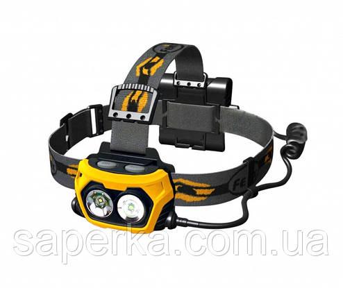Купить Налобный Фонарь Fenix HP25 XP-G R5,желтый, фото 2