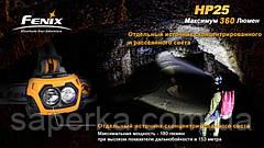 Налобный Фонарь Fenix HP25 XP-G R5,желтый, фото 2