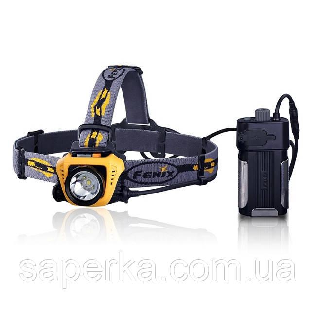 Налобный Фонарь Fenix HP30 XM-L2, желтый