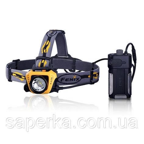 Купить Налобный Фонарь Fenix HP30 XM-L2, желтый, фото 2