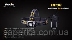 Налобный Фонарь Fenix HP30 XM-L2, желтый, фото 2
