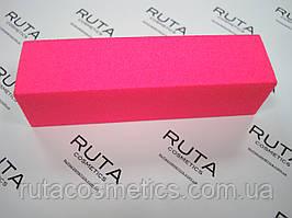 Неоновый бафик для ногтей (розовый)
