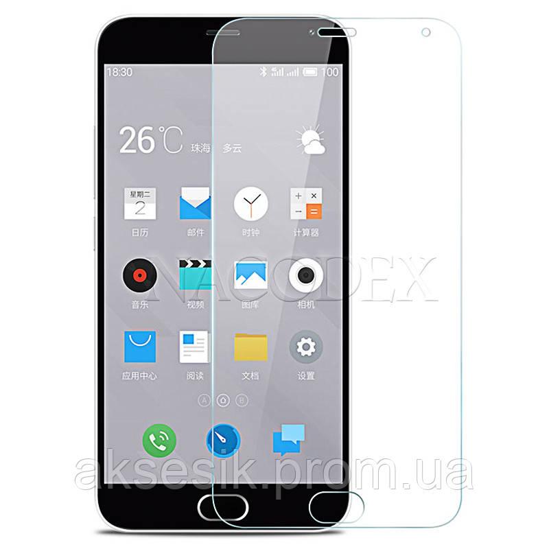 Защитное стекло Glass 0.26 mm 2.5D Meizu M2 Note без упаковки
