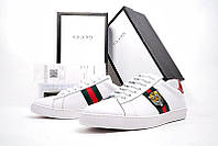 Кеды GUCCI Ace Embroidered white