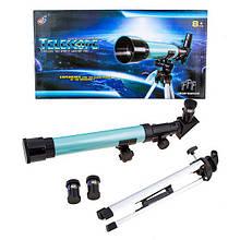 Подзорная труба детская 8+ С2120 компактный переносной детский телескоп на треноге