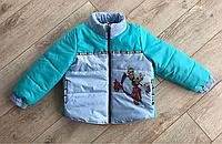 Курточка детская миньйоны унисекс оптом