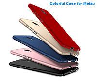 Чехлы для Meizu M5 Софт-тач пластик матовые