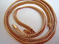 Цепочка+ браслет (набор) плетение кельтский узор длина цепочки 56 см, браслет 20.5 см