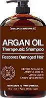 Шампунь с аргановым маслом для повреждённых волос восстанавливающий Pure Body Naturals