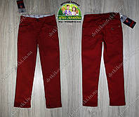Бордовые штаны для мальчика
