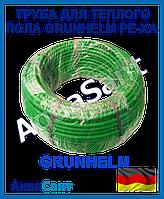 Труба для теплого пола Grunhelm PE-Xa 16х2.0мм с кислородным барьером