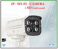 Ip wifi camera 1080p + sd record, фото 1