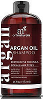 Шампунь с аргановым маслом и жожоба для всех типов волос Art Naturals