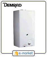 Газовая колонка Demrad c275s (полуавтомат). Турция.