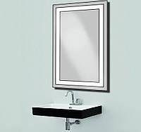 Зеркало c LED подсветкой d-1 влагостойкое 500х800 мм