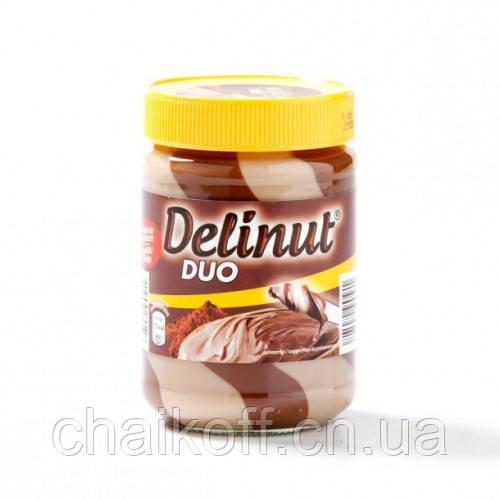 Шоколадно ореховая паста Delinut DUO 400g (Бельгия)