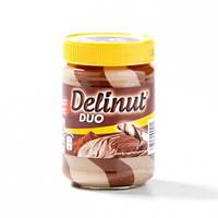 Шоколадно ореховая паста Delinut DUO 400g (Бельгия), фото 1