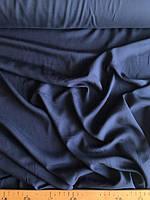 Штапель темно синий, фото 1