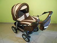 Детская коляска трансформер Комфорт с конвертом