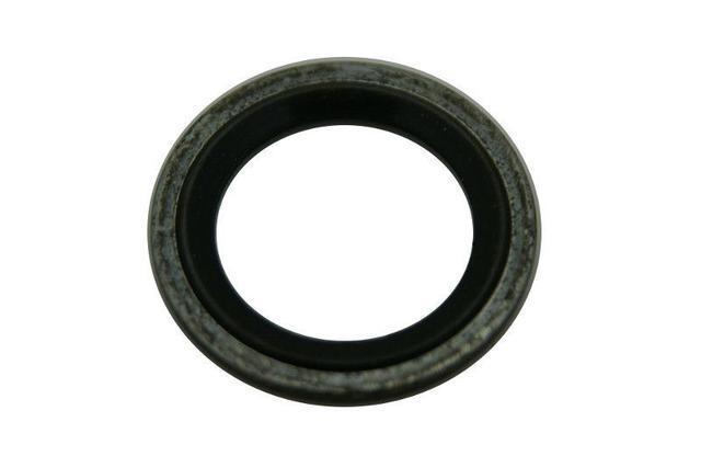 Кольцо уплотнительное (резинка с металлом) трубки компрессора кондиционера 25.2 мм наружный D GM 1850943 24436645 OPEL Astra-H/J Zafira-B/C Corsa-D