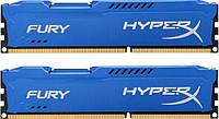 DDR3 2x8GB/1600 Kingston HyperX Fury Blue (HX316C10FK2/16)